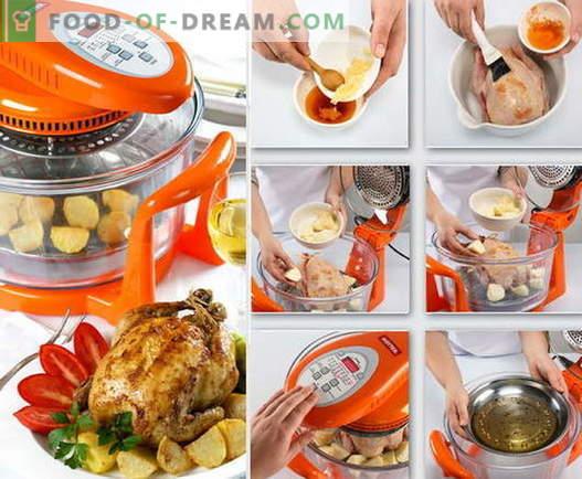 Kip in aerogrill - de beste recepten. Hoe kip op de juiste manier en smakelijk te koken in convectieovens.
