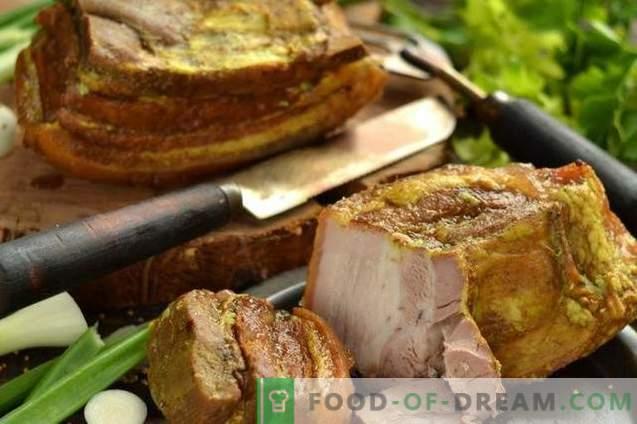 Snelle en smakelijke zelfgemaakte varkensham