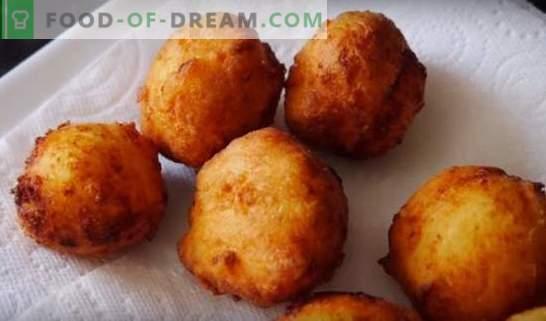Donuts voor kefir - recepten met foto's en veel trucs! Gedetailleerde bereiding van verschillende donuts op kefir volgens recepten met foto's