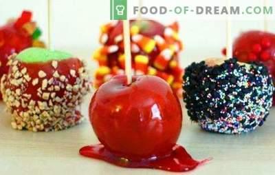 Appels in caramel thuis - knap! Diverse recepten voor appels in caramel thuis