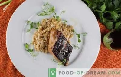 Meerval in de oven is een smakelijke en gezonde aanvulling op het bijgerecht. Hoe maak je meerval biefstuk in de oven koken met groenten, rijst, knoflook
