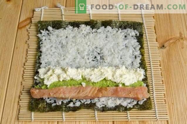 Sushi Maki met rode vis