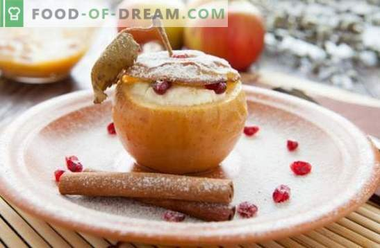 Appeldessert - een traktatie met uw favoriete smaak! Koken ijs, pastille, gebak, salades en andere zelfgemaakte desserts van appels