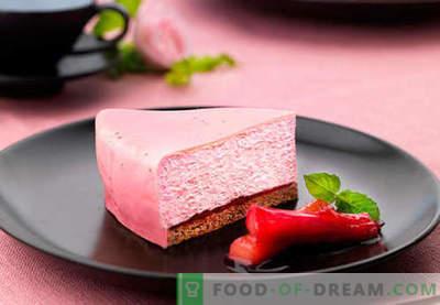 Cake Mousse - de beste recepten. Hoe goed en smakelijk koken cakemousse.