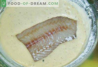 Een visbeslag maken - de beste recepten