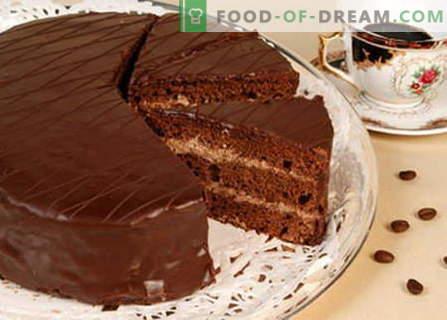 Cake Praag - de beste recepten. Hoe goed en smakelijk Praagse cake koken.