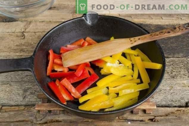 Salade met rode bonen en kip