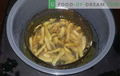 Frieten in een slowcooker - een favoriet fastfood thuis. Recepten voor friet in een slowcooker, maar ook sauzen ervoor