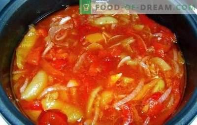 Lecho in de multicooker: technologie om ons te helpen! Snel, eenvoudig, smakelijk: de beste lecho-recepten in een slowcooker voor de winter: van tomaten en paprika's