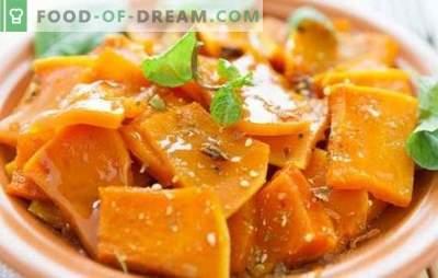 Pompoen in de magnetron - biedt nuttige en smakelijke gerechten. Een pompoen koken in de magnetron, plakjes en heel