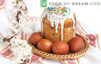 Kulichi on yeast - preparing for a bright holiday. Recipes homemade Easter cakes with yeast with candied fruit, cottage cheese and other