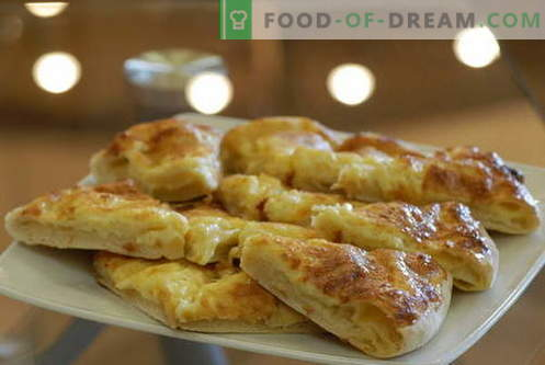 Khachapuri - de beste recepten. Hoe goed en smakelijk koken Khachapuri.