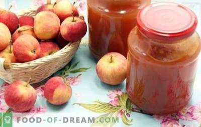 Jam van appels door een vleesmolen - vereenvoudiging van de technologie! Recepten van verschillende appels uit appels door een vleesmolen voor een zoete winter