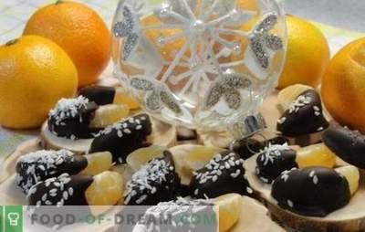 Snelle en smakelijke desserts met mandarijnen