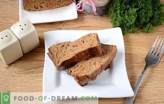 Liver soufflé: delicaat en gezond voedingsgerecht. Stapsgewijs fotorecept van lever-soufflé van kippenlever