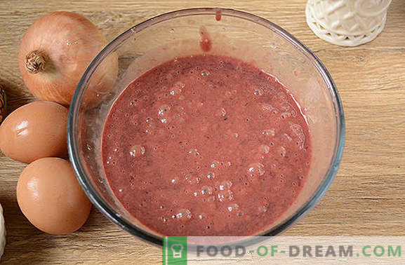 Liver soufflé: delicate and healthy dietary dish. Author's step-by-step photo-recipe of liver soufflé from chicken liver