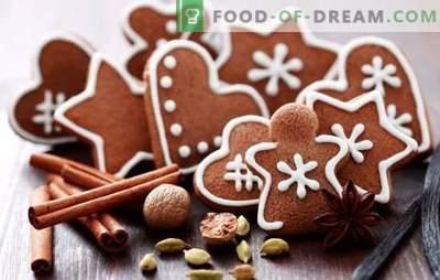 Kerst peperkoek - een sprookje en een geur van geluk in het huis. Leer hoe u echte kerstpeperkoek kunt maken