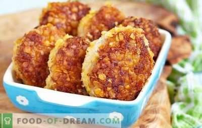 Lenten gehaktballen diversifiëren en versieren de tafel. De beste recepten voor meatless gehaktballen: kookfuncties en ongewone serveren