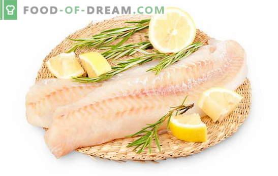 Een pollockfilet bereiden om de vis sappig te maken. Hoe pollockfilet koken in een pan, oven, multikoker