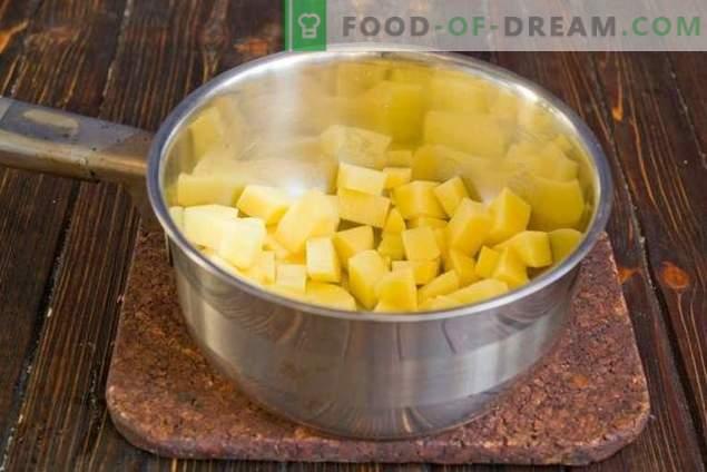 Melksoep met groenten - ongebruikelijk, maar erg lekker!