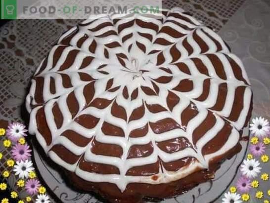Prachtige Praagse taart: recepten met foto's, stap voor stap voorbereiden. Een selectie van recepten van de beste taart uit Praag met foto's