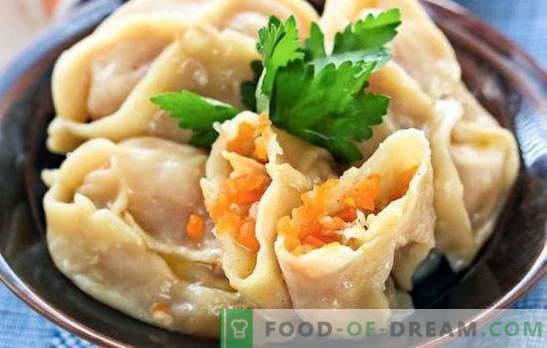 Manty met pompoen en vlees - Aziatische smaak. Verschillende manieren om een gerecht te bereiden - manti met pompoen en vlees