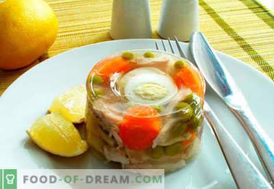 Zeevissen - de beste recepten. Hoe goed en lekker koken vis opvullen.