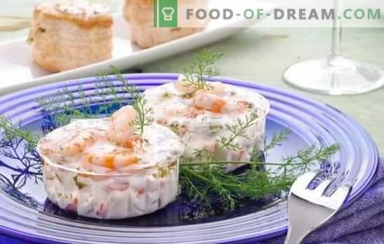 Garnalen in een romige saus - de perfecte aanvulling op rijst en pasta! Garnalenrecepten in een romige saus met knoflook, ui, citroen, wijn