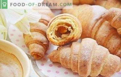 Bagels met jam - de smaak van de kindertijd! Eenvoudige en originele recepten voor bagels met jam van zandkoek, gist en kwarkdeeg