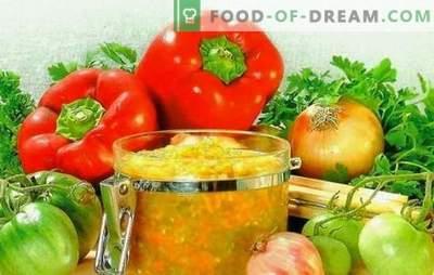 Het recept voor kaviaar van groene tomaten