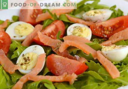 Eisalades zijn de beste recepten. Hoe goed en smakelijk om eiersalade te koken.