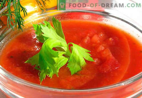 Gazpacho - bewezen recepten. Hoe je gazpacho op de juiste manier en smakelijk maakt.