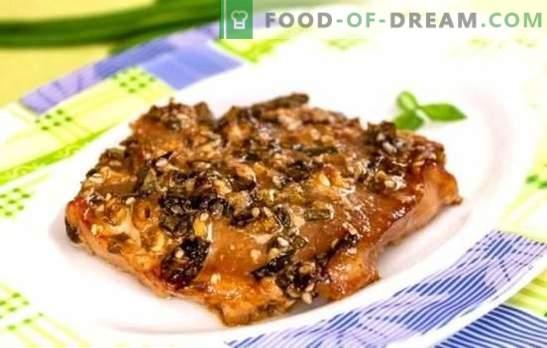 Varkensvlees in sojasaus in de oven - een geurig gerecht zonder veel moeite. Recepten voor heerlijk varkensvlees in sojasaus in de oven