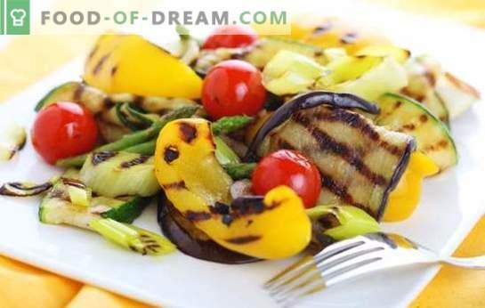 Marinade voor groenten - u geeft een nieuwe smaak! Recepten van verschillende marinades voor groenten op de grill, grill en in de oven