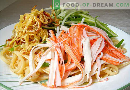 Japanse noedels zijn de beste recepten. Hoe goed en smakelijk thuis Japanse noedels koken.