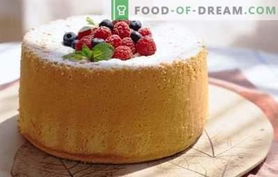 Biscuit op kefir wordt precies! De meest succesvolle recepten voor koekjes op kefir: we bakken in de oven en in de multikoker