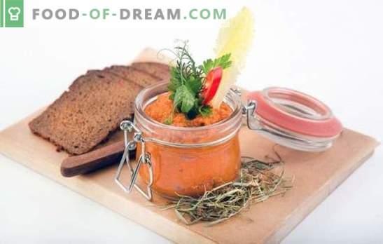 Squash kaviaar in overeenstemming met GOST: recepten van de referentie snack! Kaviaar koken volgens GOST: recepten voor kachels en multikoken
