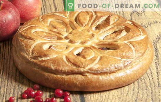 Appeltaart van gistdeeg: niets gecompliceerd! Klassieke en originele recepten gistappeltaart