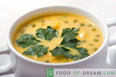 Erwtensoep - de beste recepten. Hoe goed en smakelijk koken erwtensoep.