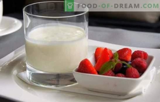 De meest interessante en nuttige informatie over zelfgemaakte melkyoghurt. Een goede gewoonte is om zelfgemaakte kefir van melk