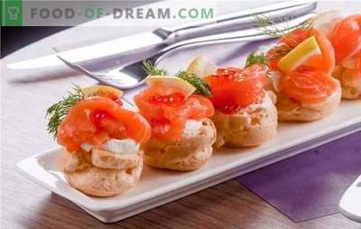Visgerechten - heerlijk! Recepten voor de lekkerste visgerechten van haring, blik, makreelgear met boter, kaas, groenten