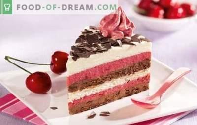 De lekkerste crèmes voor cake - een chique selectie! Recepten voor heerlijke biscuitcrèmes en andere zelfgemaakt gebak