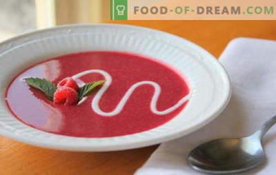 Fruitsoep - ontbijt, middagthee of dessert? De beste recepten voor goede fruitsoepen: warm en koud