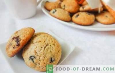 Rozijnenkoekjes van havermout - een klassiek baksel, een traditie van familiethee. Hoe heerlijke havermout raisin cookies te maken
