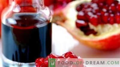 Granaatappelsaus - de beste recepten. Hoe granaatappelsaus te koken.