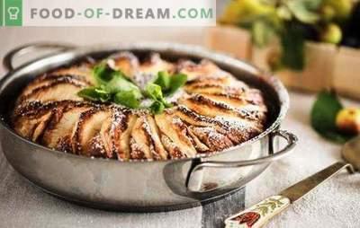 Kwarkje appeltaart - het meest delicate gebakje. Hoe maak je een cheesecake met appels in de oven en een slowcooker
