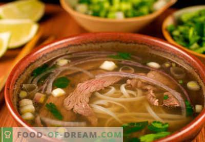 Varkensbouillon - de beste recepten. Hoe goed en smakelijk koken varkensvlees bouillon.