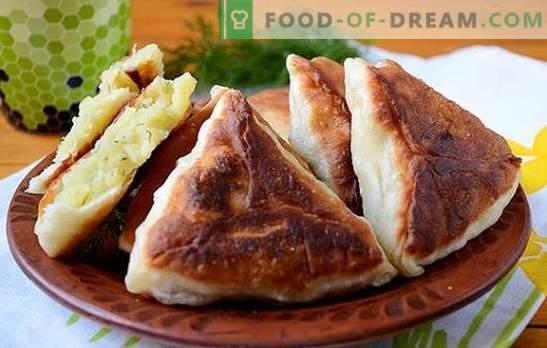 Aardappelkoekjes - het is gemakkelijker dan het lijkt op het eerste gezicht! Leer aardappelpasteitjes koken: stapsgewijs een fotorecept van de auteur