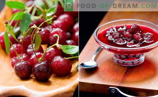 Cherry jam: kuidas valmistada kirsi moosi
