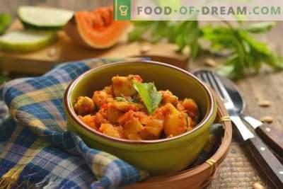 Courgette, pompoen en kip - een herfststoofpot voor elke dag